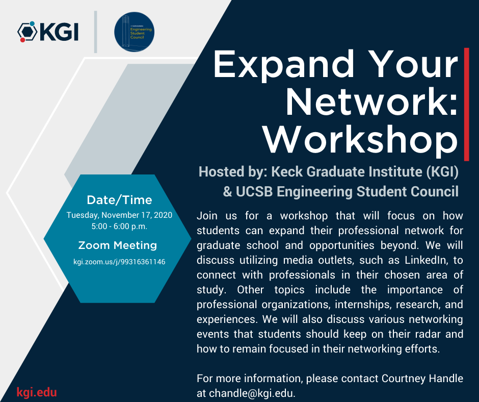 Expand Your Network: Workshop