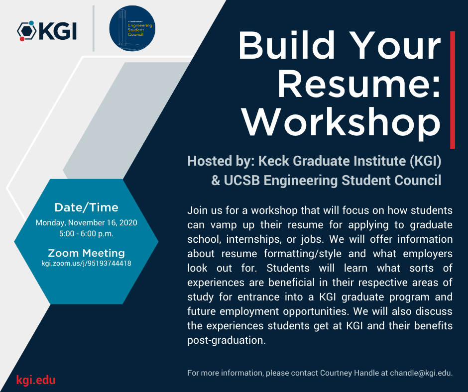Build Your Resume: Workshop